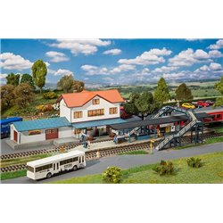FALLER 190066 HO 1/87 Promotional Set Duningen Station