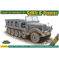 ACE 72567 1/72 Zugkraftwagen 5t Sd.Kfz. 6 Pionier