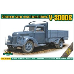 ACE 72576 1/72 V-3000S 3t German cargo Truck (early flatbed)