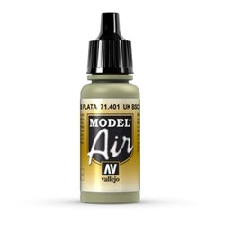 VALLEJO 71.401 Model Air UK BSC 28 Silver Grey 17ml