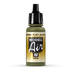 VALLEJO 71.411 Model Air Grass Green 17ml