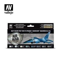VALLEJO 71.618 Model Air USAF colors post WWII to present Aggressor Squadron Part III USAF 17 ml.