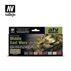 VALLEJO 71.619 Model Air Middle East Wars (1967's to present) AFV 17 ml.