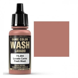 VALLEJO 73.204 Game Color Flesh Washes 17 ml.