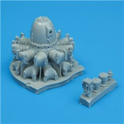 QUICK BOOST QB48005 1/48 P-47 Thunderbolt Engine For Tamiya