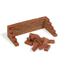 ADD ON PARTS 160001 1/16 Precolored Bricks - 100gr