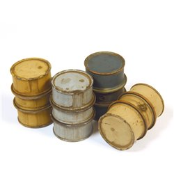 ADD ON PARTS 350002 1/35 German Fuel Drums, Type 1