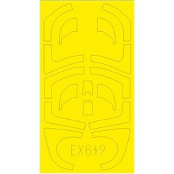 EDUARD EX649 1/48 Masking Tape Yak-130 For ZVEZDA 4821
