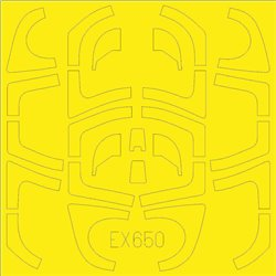 EDUARD EX650 1/48 Masking Tape Yak-130 TFace for ZVEZDA 4821