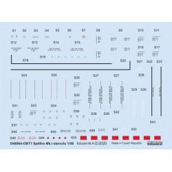 EDUARD EX651 1/48 Masking Tape Aero L-39MS/L-59 For Trumpeter