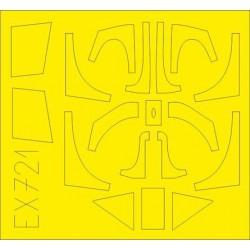 EDUARD EX653 1/48 Masking Tape Spitfire FR Mk.XIV for Airfix A05135