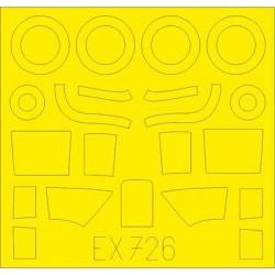 EDUARD EX656 1/48 Masking Tape U-2A AFV Club AR48112 – AR48114