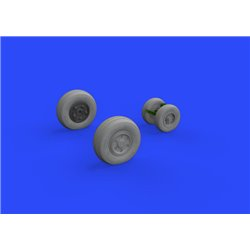 EDUARD 632136 1/32 F/A-18E wheels for Revell