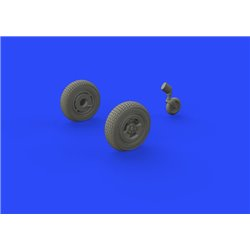 EDUARD 648469 1/48 Spitfire Mk.XIV wheels - 3spoke for Airfix A05135