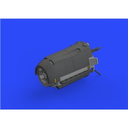 EDUARD 648474 1/48 Bf 109E engine for Eduard