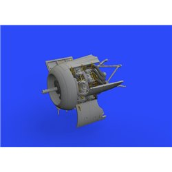 EDUARD 648482 1/48 Fw 190A-8/R2 engine for Eduard