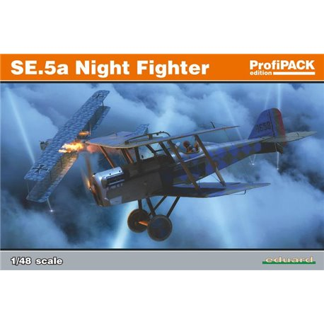 EDUARD 82133 1/48 SE.5a Night Fighter ProfiPack Edition