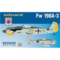 EDUARD 84112 1/48 Fw 190A-3 Weekend Edition