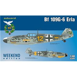 EDUARD 84142 1/48 Bf 109G-6 Erla Weekend edition