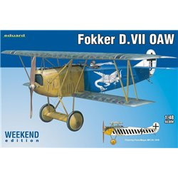 EDUARD 84155 1/48 Fokker D.VII OAW Weekend Edition