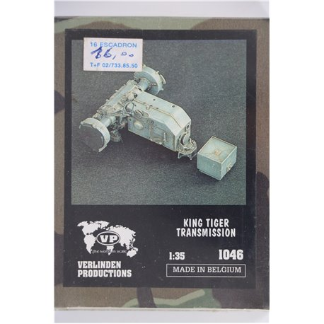 VERLINDEN PRODUCTIONS 1046 1/35 King Tiger Transmission