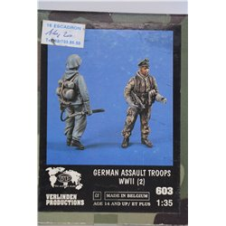 VERLINDEN PRODUCTIONS 603 1/35 German Assault Troops WW II