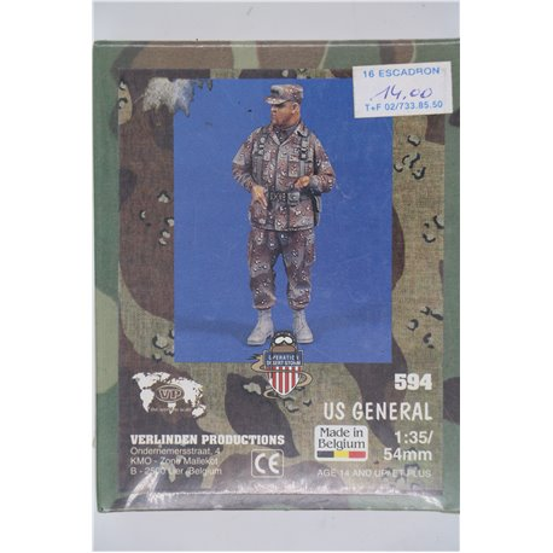 VERLINDEN PRODUCTIONS 594 1/35 US General Gulf War