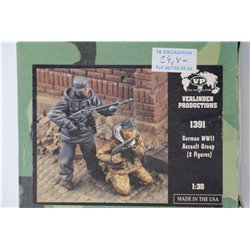 VERLINDEN PRODUCTIONS 1391 1/35 German Assault Group