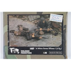 VERLINDEN PRODUCTIONS 1497 1/35 In Defense German Rifleman 1