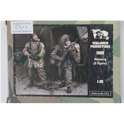VERLINDEN PRODUCTIONS 1505 1/35 Advancing – 2 Figures