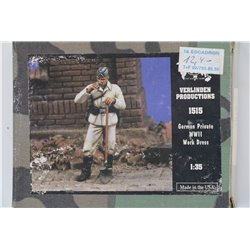 VERLINDEN PRODUCTIONS 1515 1/35 German Private WWII Work Dress