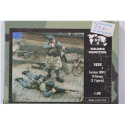 VERLINDEN PRODUCTIONS 1655 1/35 German WWII Riflemen