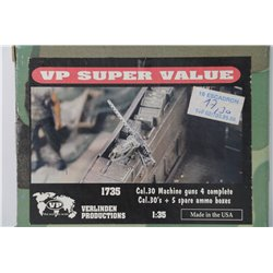 VERLINDEN PRODUCTIONS 1735 1/35 Cal .30 Machine Guns