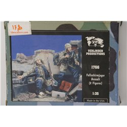 VERLINDEN PRODUCTIONS 1766 1/35 Fallschirmjager Assault