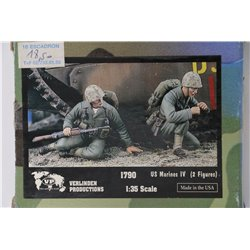 VERLINDEN PRODUCTIONS 1790 1/35 US Marines IV – 2 Figures