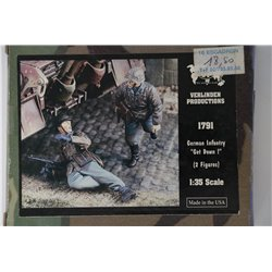 "VERLINDEN PRODUCTIONS 1791 1/35 German Infantry ""Get Down!"""