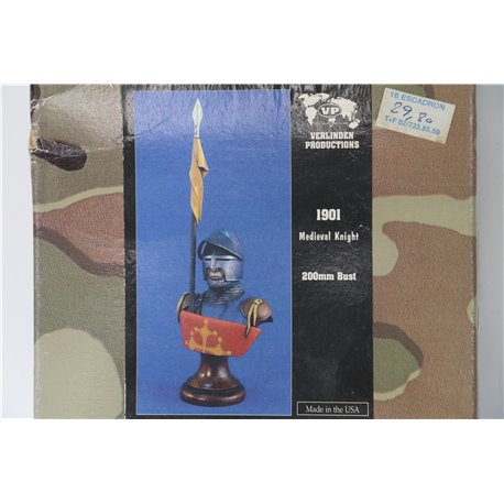 VERLINDEN PRODUCTIONS 1901 1/9 Medieval Knight