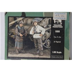 VERLINDEN PRODUCTIONS 1950 1/35 Time to Eat – 2 Figures