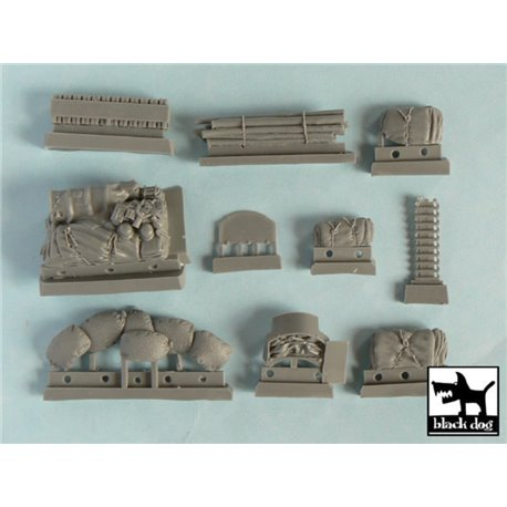 BLACK DOG T48024 1/48 Pz.Kpfw. III Ausf L accessories set for Tamiya 32524