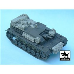 BLACK DOG T48030 1/48 Sturmgeschutz III Ausf.B accessories set for Tamiya 32507