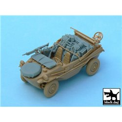 BLACK DOG T48031 1/48 Schwimmwagen Ausf. J accesories set for Tamiya 32506