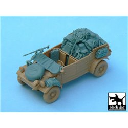 BLACK DOG T48033 1/48 Kubelwagen accesories set for Tamiya 32503