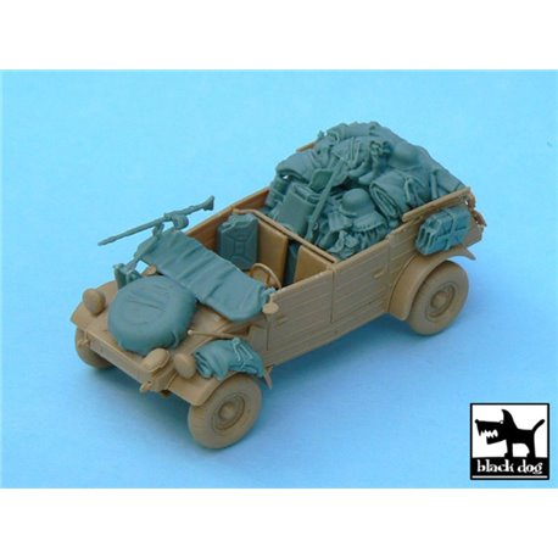 BLACK DOG T48033 1/48 Kubelwagen accesories set for Tamiya 32503