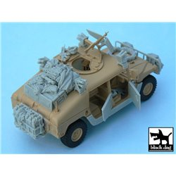 BLACK DOG T48034 1/48 HUMVEE Iraq war accessories set
