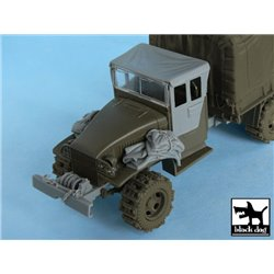 BLACK DOG T48048 1/48 US 1 1/2 ton Cargo Truck accessories set for Tamiya 32548
