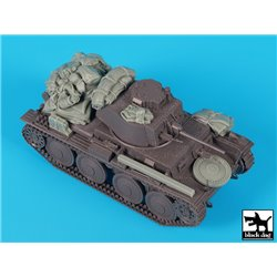 BLACK DOG T48066 1/48 German Panzer 38(t) ausf E/F accessories set