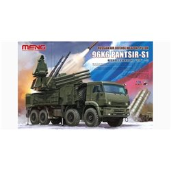 MENG SS-016 1/35 Russian Air Defense Weapon System 96K6 PANTSIR-S1