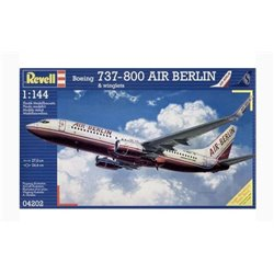 REVELL 04202 1/144 Boeing 737-800 Air Berlin & winglets