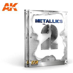 AK INTERACTIVE AK508 METALLICS VOL. 2 –FIGURES- LEARNING SERIES 5
