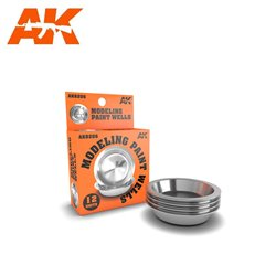AK INTERACTIVE AK8206 MODELING PAINT WELLS